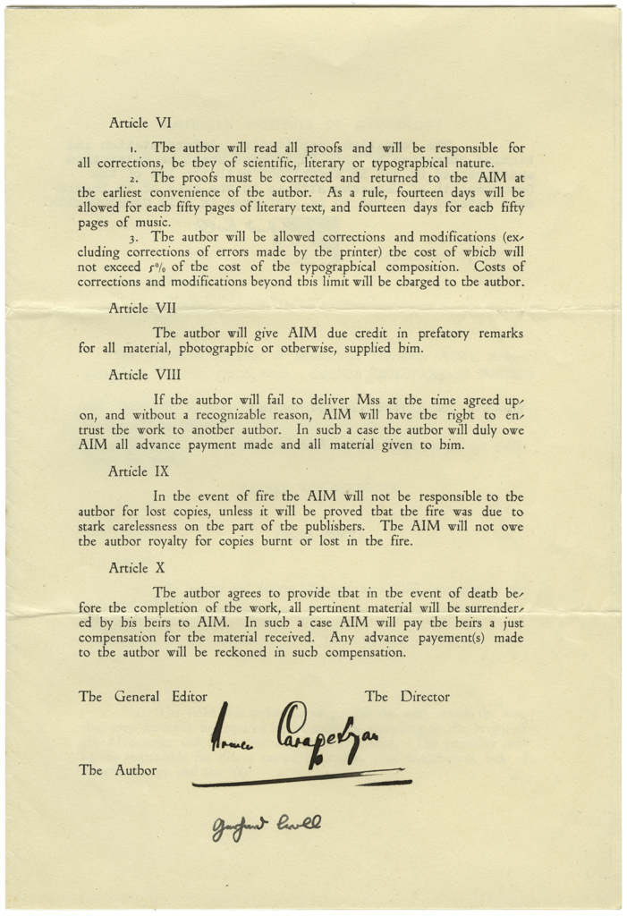Original CMM contract, page 3
